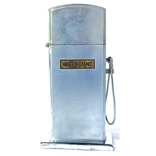 Vintage Gas Pump Style Cigarette Lighter Preview