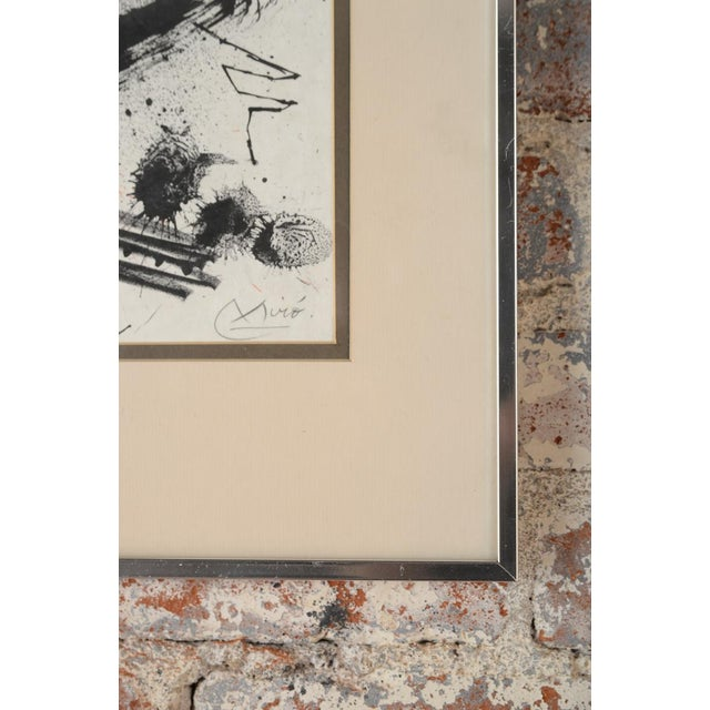 "Joan Miro ""Abstract"" Original Lithograph, Signed For Sale - Image 9 of 10"