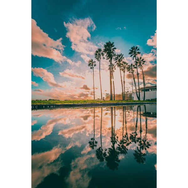 Cabrillo Beach Reflections by Jason Mageau (Canvas) - Image 1 of 2