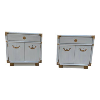 1970s Drexel Accolade Nightstands - a Pair For Sale