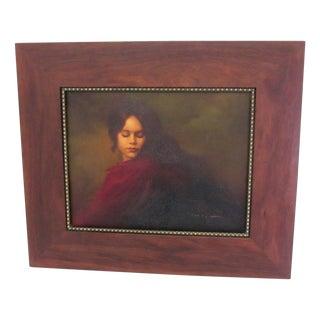 Kathleen Silva Original Signed Oil on Canvas by Cotti Lorango