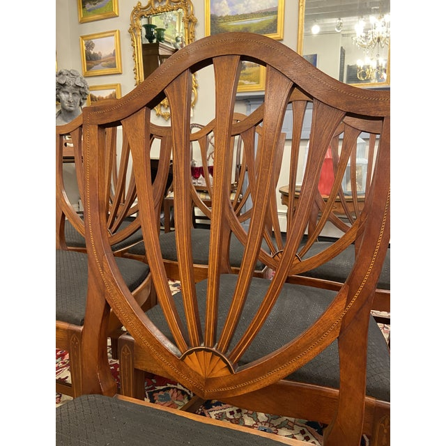 Early 20th Century Irving & Casson Dining Chairs - Set of 8 For Sale - Image 12 of 13