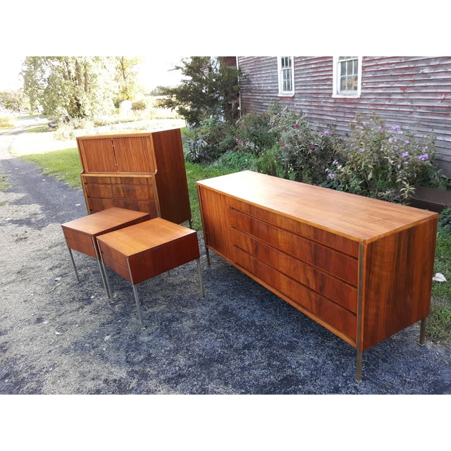 William Hinn,Edmund Spence,Sweden,bedroom Set,chest of Drawers,UNIQUE and Rare Set For Sale - Image 6 of 11