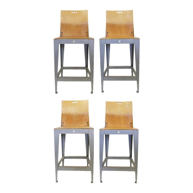 Charlotte Collection Bar Stools by Falcon For Sale