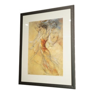 Arabesque Artist Edition Seriolithograph by Gary Benfield For Sale
