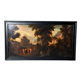 "Painting of ""Pastoral Scene"", Flemish For Sale"