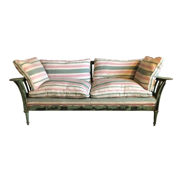 Early 20th Century Chinese Wood Frame Sofa