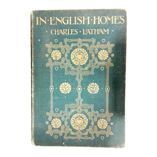 "1907 ""In English Homes"" Coffee Table Book For Sale"