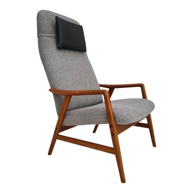 Danish Design by Alf Svensson, Model Kontour, 70s, Completely Renovated-Reupholstered For Sale
