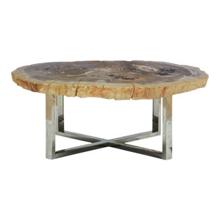 Leslie Coffee Table, Natural Light For Sale