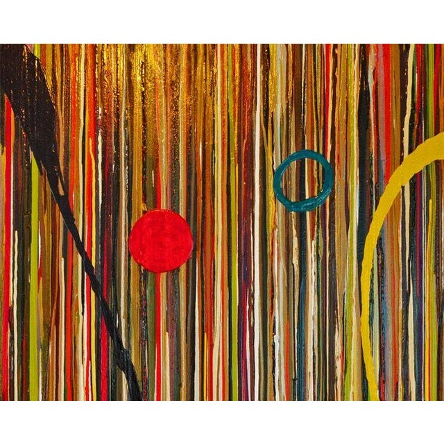 """""""Linear Pizazz"""" Painting by Valerie Ross - Image 1 of 3"""