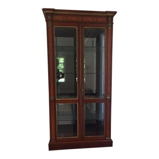 John Widdicomb Display Cabinet For Sale
