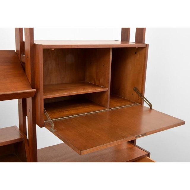 1960s Shelving Unit and Desk by Poul Cadovius, Denmark, 1965 For Sale - Image 5 of 9