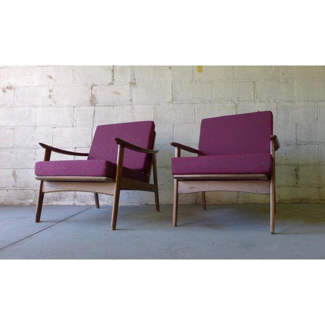 Mid-Century Modern Lounge Chairs - A Pair - Image 3 of 7