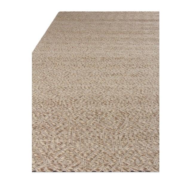 Sanz Flatweave Wool Beige Rug - 9'x12' For Sale - Image 4 of 6