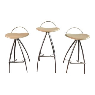Cattelan Italia Contemporary Barstools - Set of 3 For Sale