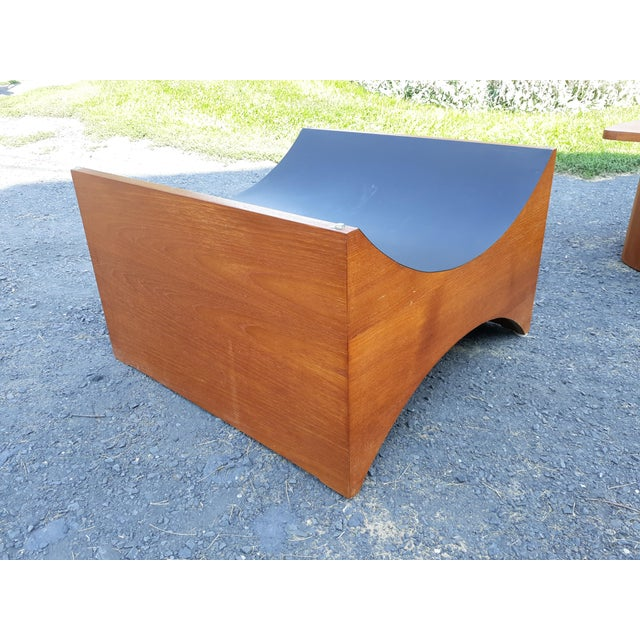 Danish Modern Teak Coffee Table Base by R S Associates For Sale - Image 6 of 11
