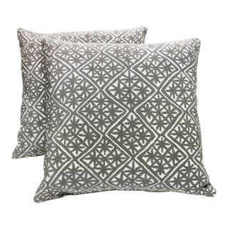 "20"" X 20"" Designtex Aster Down Pillows For Sale"