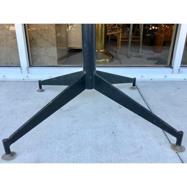 Gio Ponti Gio Ponti Style Round Dining Table For Sale - Image 4 of 8