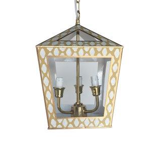 Dana Gibson Tucker Hanging Lantern in Taupe