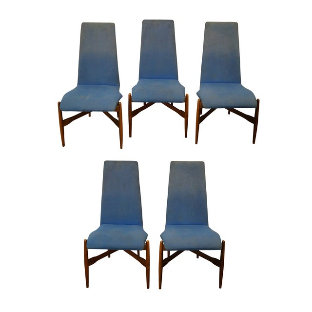 Kodawood Mid-century Bentwood Chairs - Set of 5 For Sale