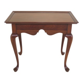 Pennsylvania House Queen Anne Cherry Tea Table For Sale