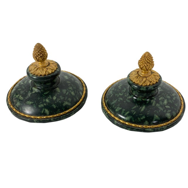 Metal Early 18th Century Italian Porphyry Vases With Bronze Dore Mounts - a Pair For Sale - Image 7 of 13