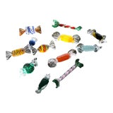 Image of 1980s Vintage Murano Glass Candy- Set of 12 For Sale