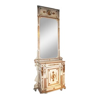 Venitian 19th Century Cabinet with Mirror For Sale