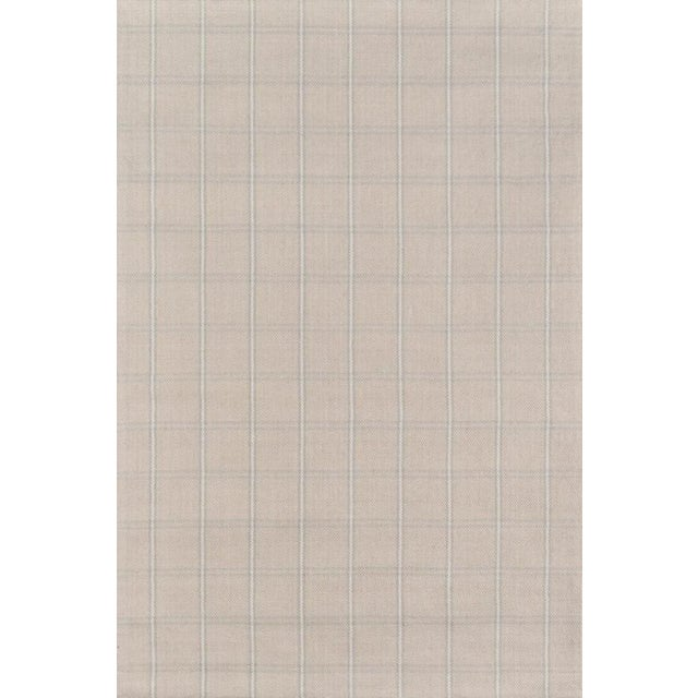Erin Gates Marlborough Dover Beige Hand Woven Wool Area Rug 8' X 10' For Sale