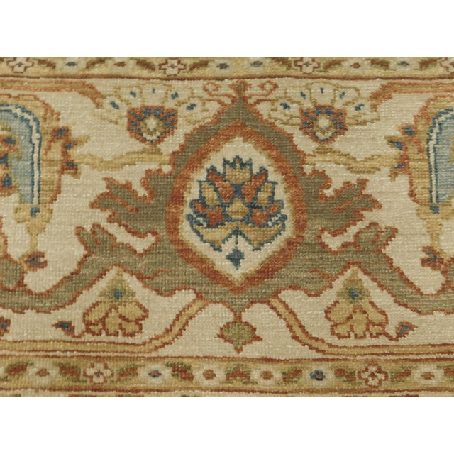"""Chinese Ziegler Hand Knotted Rug - 8'2""""x 10'4"""" For Sale - Image 4 of 8"""