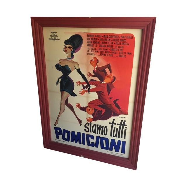 1962 Italian Movie Poster - Image 1 of 10