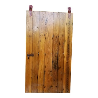 Wormy Chestnut Sliding Barn Door