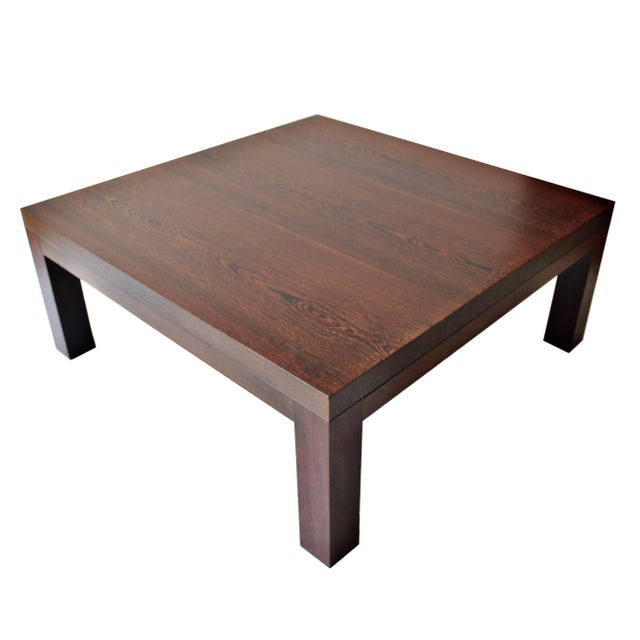 Spencer Fung Custom Wenge Wood Coffee Table - Image 1 of 9