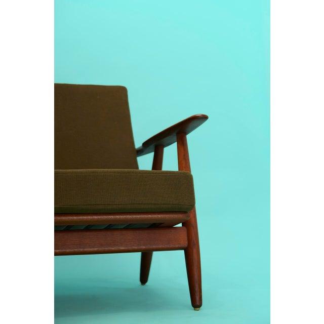 Mid-Century Modern 1960s Hans Wegner Cigar Sofa For Sale - Image 3 of 11