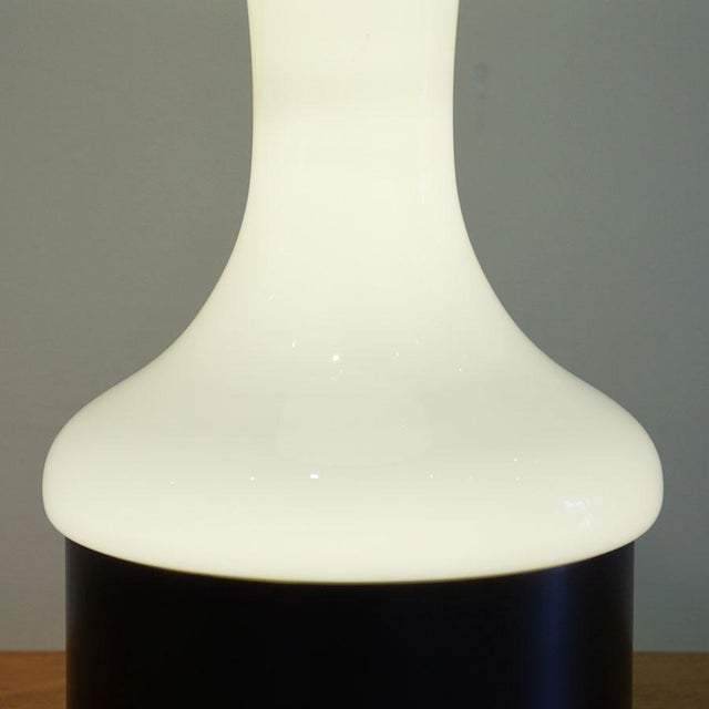 1950s Repurposed Biomorphic Lamp For Sale - Image 5 of 9