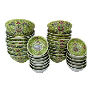 Chinese Porcelain Bowls - Set of 31 For Sale