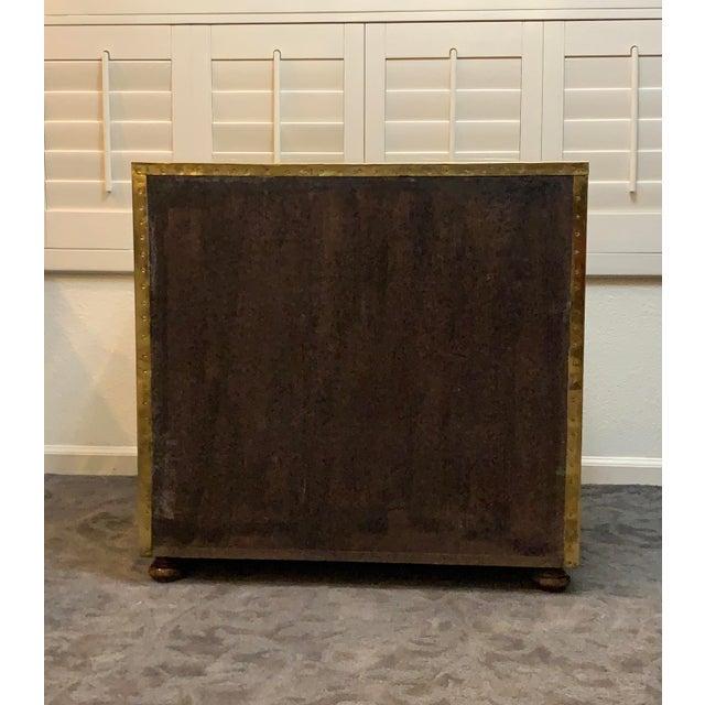 1970s 1970's Vintage Brass Dresser by Sarreid Ltd. For Sale - Image 5 of 10