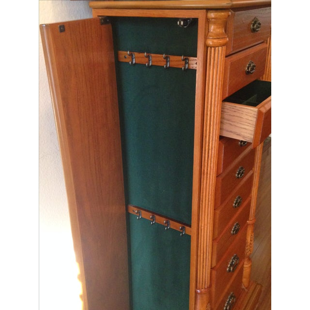 Emily Powell Wood Jewelry Cabinet - Image 6 of 8