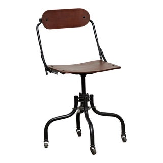 Early Industrial Task Chair by Domore For Sale