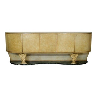 Parchment Sideboard by Dassi For Sale