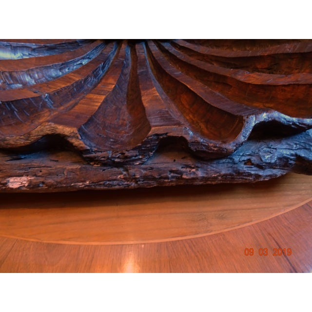 19th Century Walnut Carved Shell For Sale In New Orleans - Image 6 of 12