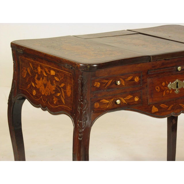 19th Century French Marquetry Podruse For Sale - Image 10 of 13