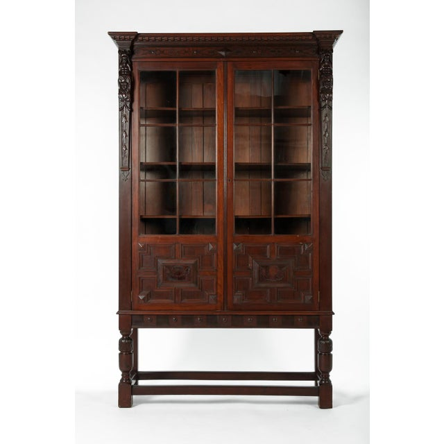 Late 19th Century Late 19th Century Antique French Display Cabinet For Sale  - Image 5 of - Superb Late 19th Century Antique French Display Cabinet DECASO