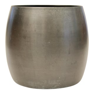 Modernist Metal Planter