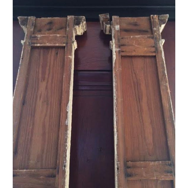 Antique Decorative Architectural Columns - Pair - Image 6 of 9