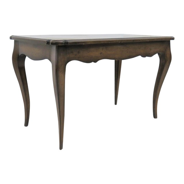 French Style Walnut Coffee Table For Sale