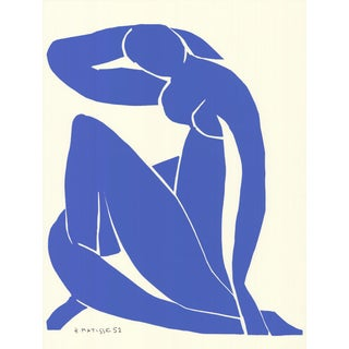 1992 Henri Matisse 'Blue Nude Ii' Serigraph For Sale