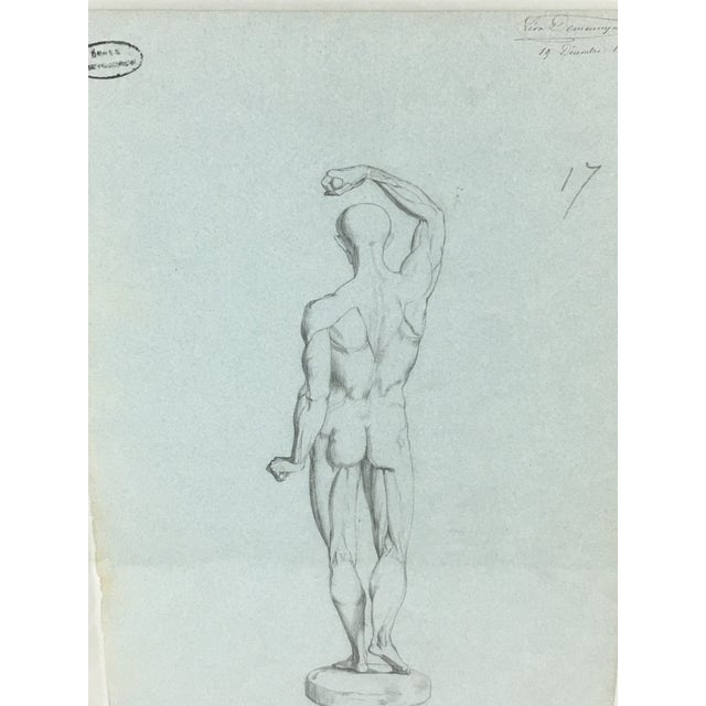This exquisite charcoal drawing, signed and dated 1871 by the artist, is a wonderful collector's and accent piece. In...