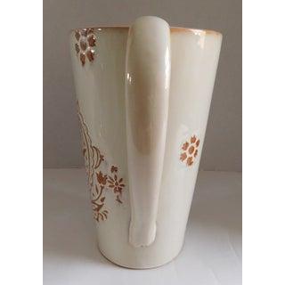 Glazed Cream Terracotta Vintage Drink Pitcher Preview